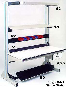 Tremendous Dimension Next Expandable Modular Workbenches Pro Line Customarchery Wood Chair Design Ideas Customarcherynet