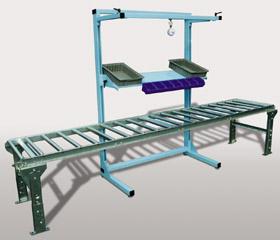 Magnificent Flex Line Open Frame Workbench Pro Line Series Pro Line Customarchery Wood Chair Design Ideas Customarcherynet