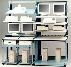 Elegant Pro Line Offers Several Models Of LAN Workbenches.