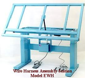 ergonomic wire harness workbench pro line series pro line rh industrialworkbenches com wiring harness tape 3m wiring harness tape foureyedpride
